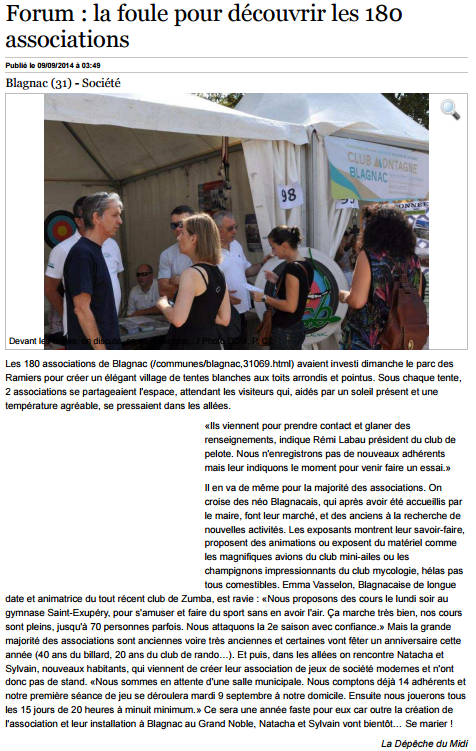 2014-09_Article_LaDepeche